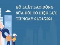 26 ĐIỂM CẦN LƯU Ý TRONG BỘ LUẬT LAO ĐỘNG SỬA ĐỔI NĂM 2019