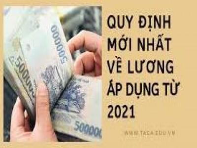 Những điểm mới về lương, thưởng sắp có hiệu lực 2021 (Tóm tắt)