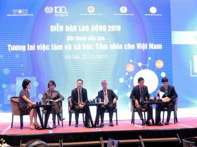 Diễn đàn Lao động Việt Nam 2019: Tương lai việc làm-Lựa chọn của Việt Nam